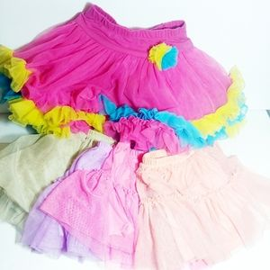 Lot of 5 Girls Tutus - 5t & 4t - Dance Play Dress
